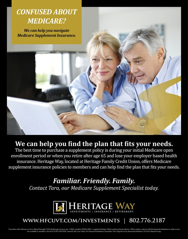 Heritage Family Credit Union Medicare Supplemental Insurance
