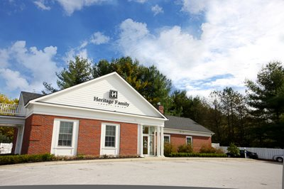 The Heritage Family Credit Union Branch in Fair Haven, Vermont.