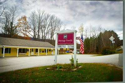 The Heritage Family Credit Union Branch in Londonderry, Vermont.