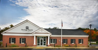 The Heritage Family Credit Union Branch in Hooksett, New Hampshire.
